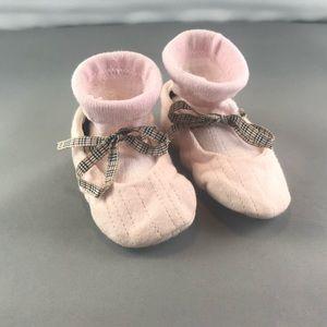 Burberry Baby Slipper Socks